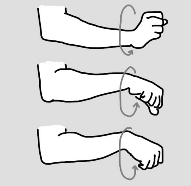 wrists stretch